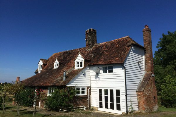 2016 Timber and Damp survey undertaken on Grade II Listed house  in Kent.
