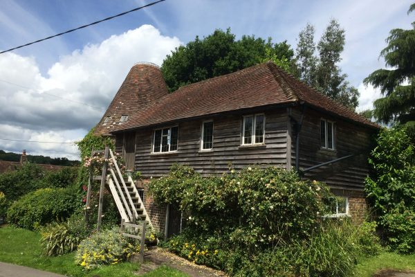 2016 Timber and damp survey undertaken on East Sussex oast house