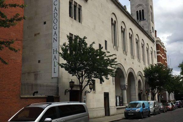 2004 Chemical dpc and structural waterproofing works undertaken at Cadogan Hall, London
