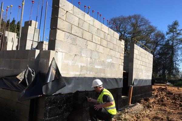 2018 Application of Newton 109LM on a new build project near Sevenoaks